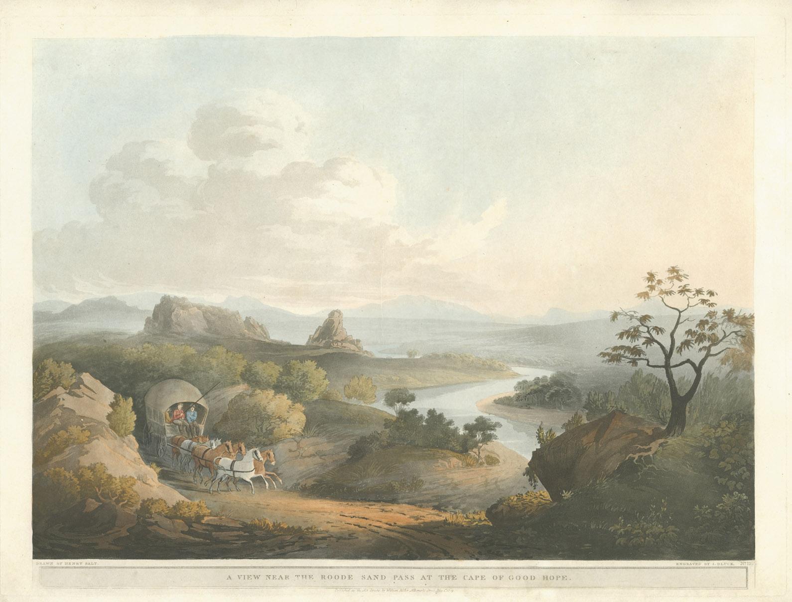 Henry Salt Roodezand pass 1809